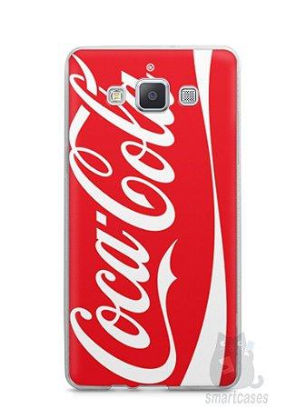 Capa Capinha Samsung A7 2015 Coca-Cola