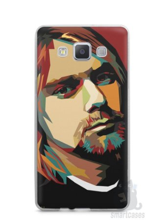 Capa Capinha Samsung A7 2015 Kurt Cobain