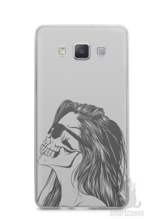 Capa Capinha Samsung A7 2015 Mulher Caveira