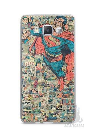 Capa Capinha Samsung A7 2015 Super Homem Comic Books