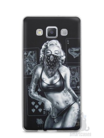 Capa Capinha Samsung A7 2015 Marilyn Monroe #3