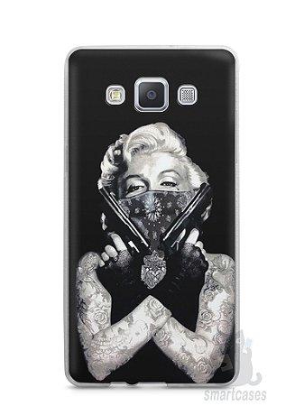 Capa Capinha Samsung A7 2015 Marilyn Monroe #5