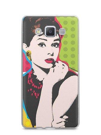 Capa Capinha Samsung A7 2015 Audrey Hepburn #3