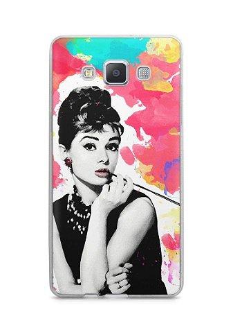 Capa Capinha Samsung A7 2015 Audrey Hepburn #5