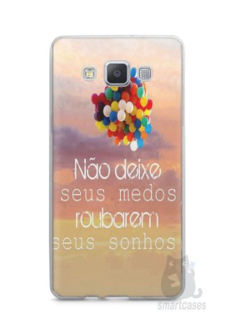 Capa Capinha Samsung A7 2015 Frase #3