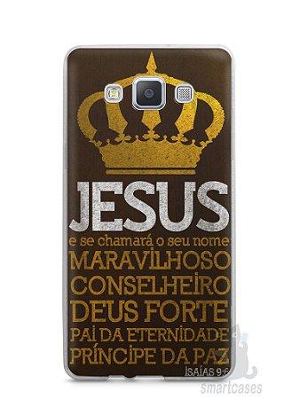 Capa Capinha Samsung A7 2015 Jesus #4