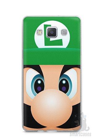 Capa Capinha Samsung A7 2015 Luigi Irmão do Super Mario