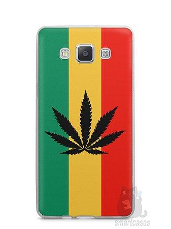 Capa Capinha Samsung A7 2015 Rasta Weed #2