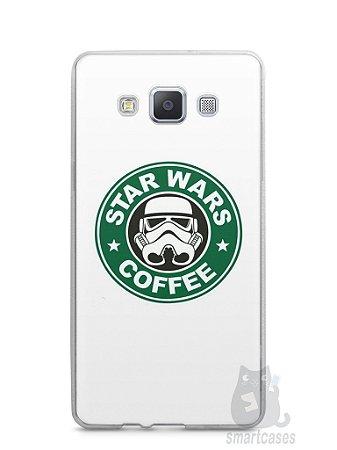 Capa Capinha Samsung A7 2015 Star Wars Coffee