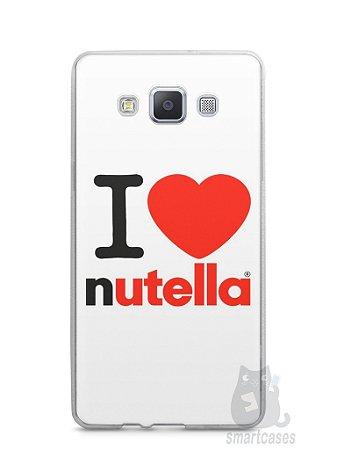 Capa Capinha Samsung A7 2015 I Love Nutella