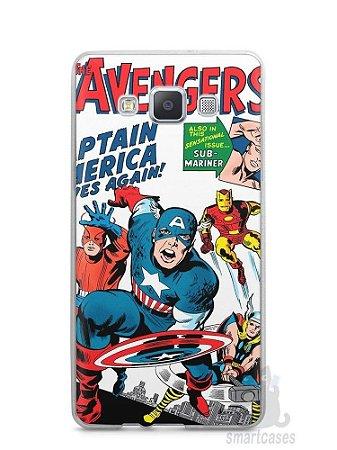 Capa Capinha Samsung A7 2015 The Avengers
