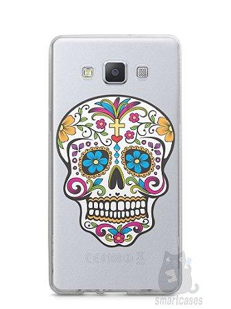 Capa Capinha Samsung A7 2015 Caveira Mexicana
