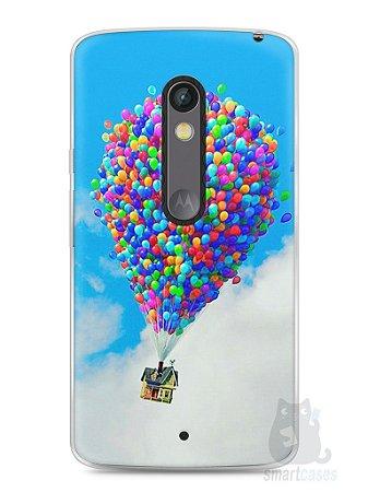 Capa Capinha Moto X Play Balões