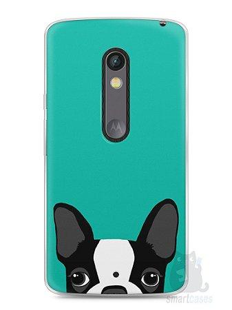 Capa Capinha Moto X Play Cachorro Bulldog Francês #3