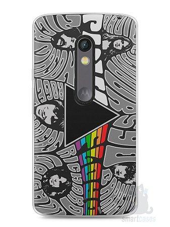 Capa Capinha Moto X Play Pink Floyd #5