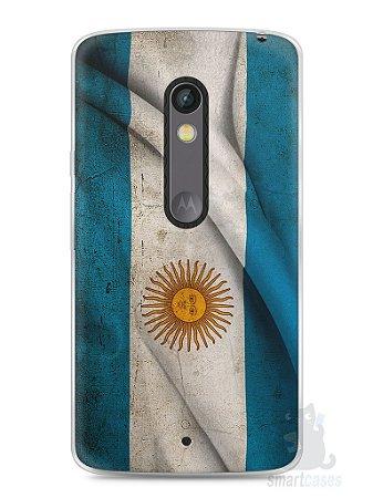 Capa Capinha Moto X Play Bandeira da Argentina #1