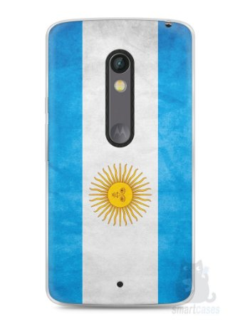 Capa Capinha Moto X Play Bandeira da Argentina #2
