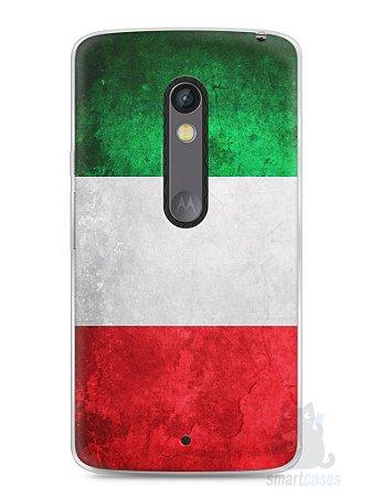 Capa Capinha Moto X Play Bandeira da Itália