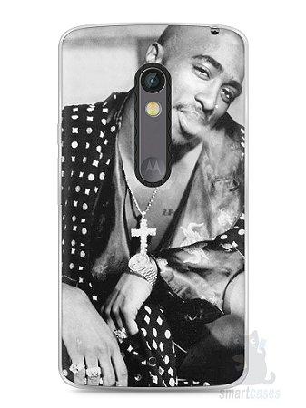 Capa Capinha Moto X Play Tupac Shakur #3