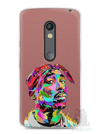Capa Capinha Moto X Play Tupac Shakur #4