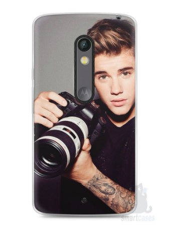 Capa Capinha Moto X Play Justin Bieber #6