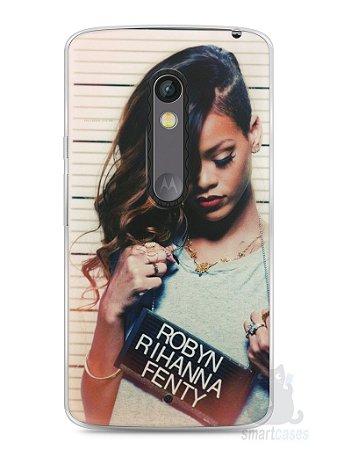 Capa Capinha Moto X Play Rihanna #2