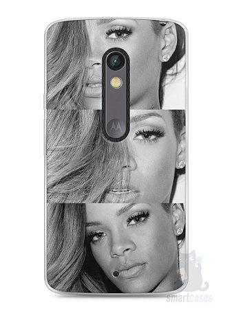 Capa Capinha Moto X Play Rihanna #4