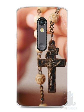 Capa Capinha Moto X Play Jesus #1