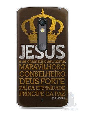 Capa Capinha Moto X Play Jesus #4