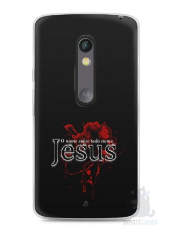 Capa Capinha Moto X Play Jesus #5