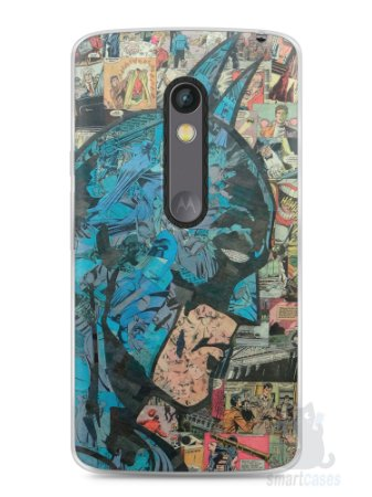 Capa Capinha Moto X Play Batman Comic Books #2