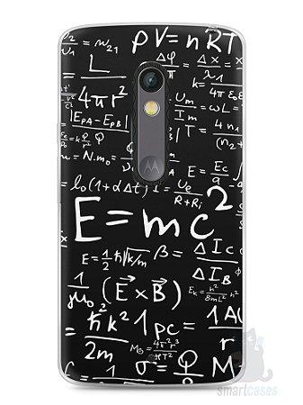 Capa Capinha Moto X Play Teoria da Relatividade Einstein