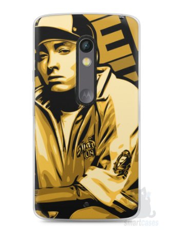 Capa Capinha Moto X Play Eminem #2