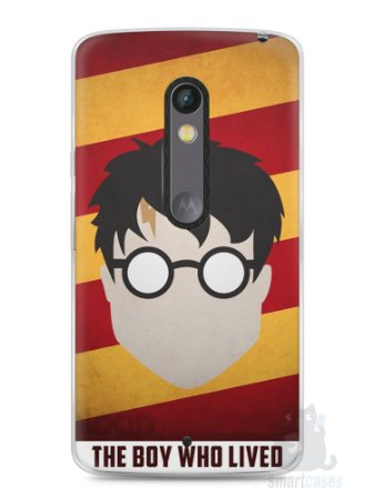 Capa Capinha Moto X Play Harry Potter #2