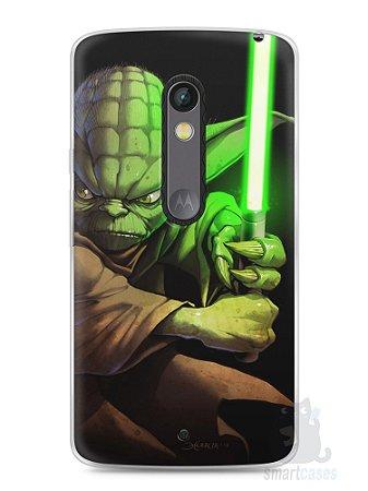 Capa Capinha Moto X Play Yoda Star Wars