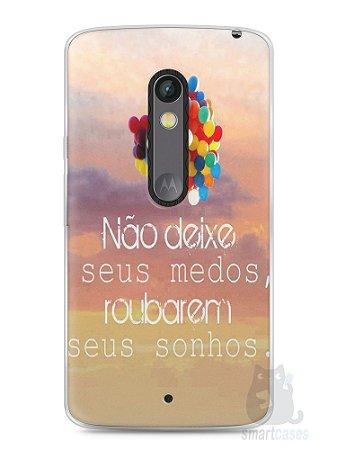 Capa Capinha Moto X Play Frase #3