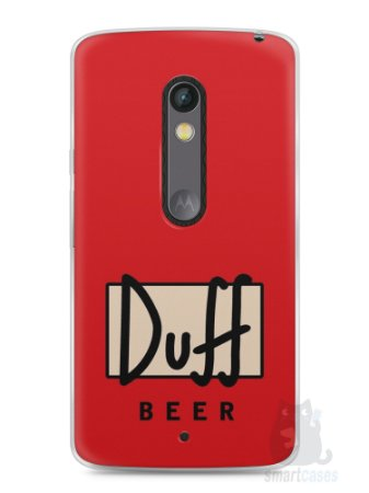 Capa Capinha Moto X Play Cerveja Duff