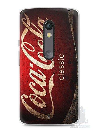 Capa Capinha Moto X Play Coca-Cola Classic