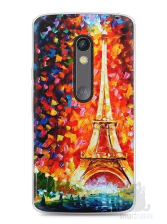 Capa Capinha Moto X Play Torre Eiffel #3