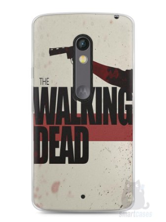 Capa Capinha Moto X Play The Walking Dead #3