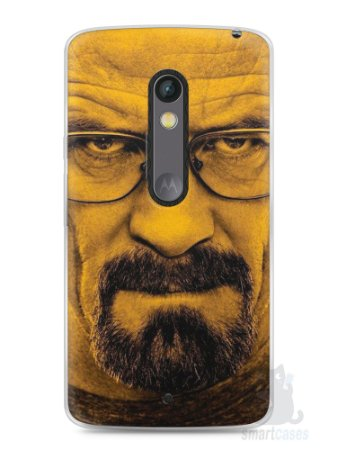 Capa Capinha Moto X Play Breaking Bad #3