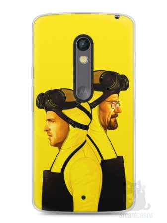Capa Capinha Moto X Play Breaking Bad #10