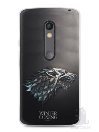 Capa Capinha Moto X Play Game Of Thrones Stark