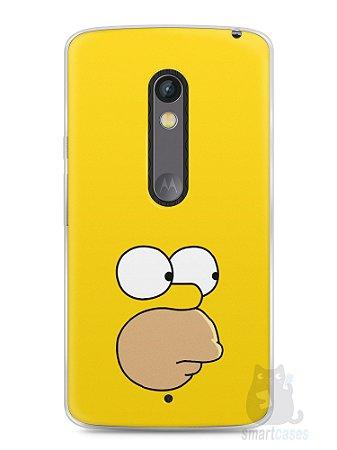 Capa Capinha Moto X Play Homer Simpson Face