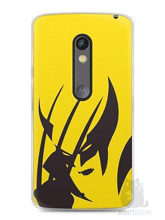 Capa Capinha Moto X Play Wolverine