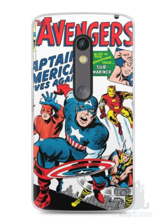 Capa Capinha Moto X Play The Avengers