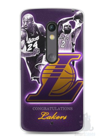 Capa Capinha Moto X Play Lakers