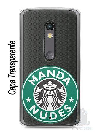 Capa Capinha Moto X Play Manda Nudes