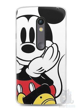Capa Capinha Moto X Play Mickey Mouse #2
