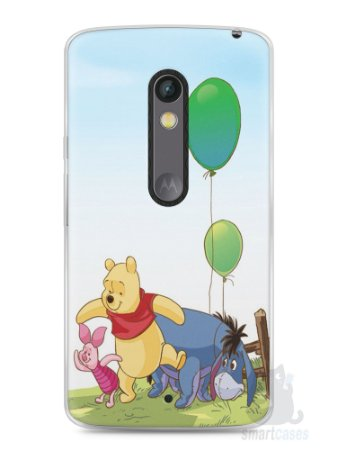 Capa Capinha Moto X Play Ursinho Pooh